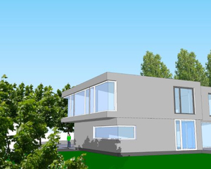 Freestanding house in the best area of Wiesbaden - front view 1